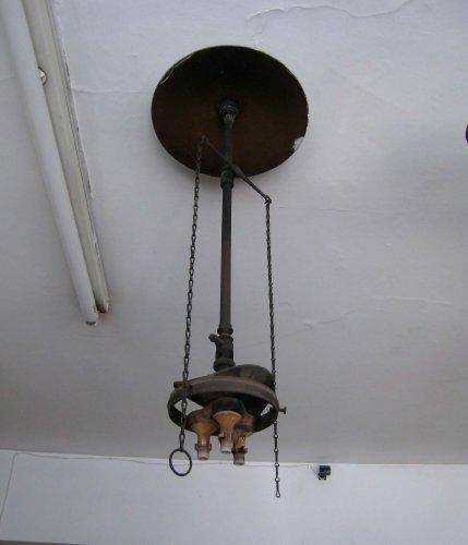Victorian gas lamp