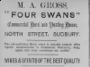 Four Swans poster