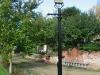 Victorian town gas lamp standard