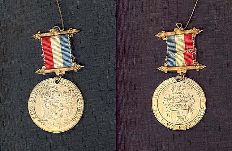Coronation medal