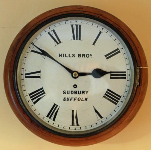 Clock made by Hills of Friars Street