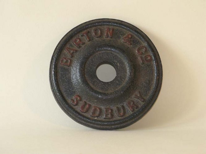Tie plate (Barton and Co.)