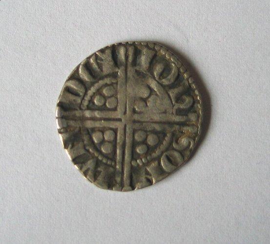 Reverse Henry III silver penny
