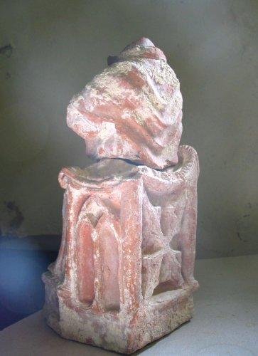 Seated terracotta figure 2