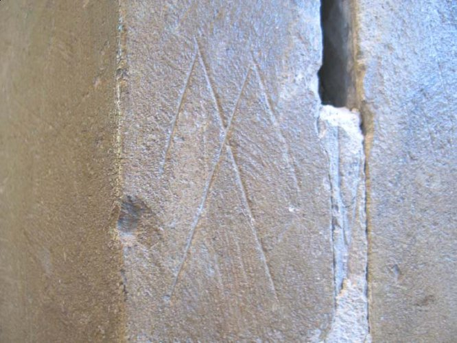 St Peter\'s church - witchcraft mark 1