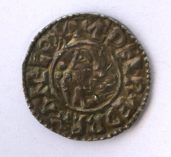 Sudbury penny of Ethelred II -obverse