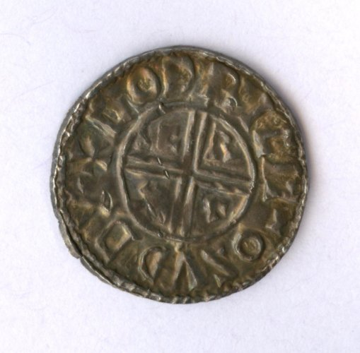 Sudbury penny of Ethelred II-reverse
