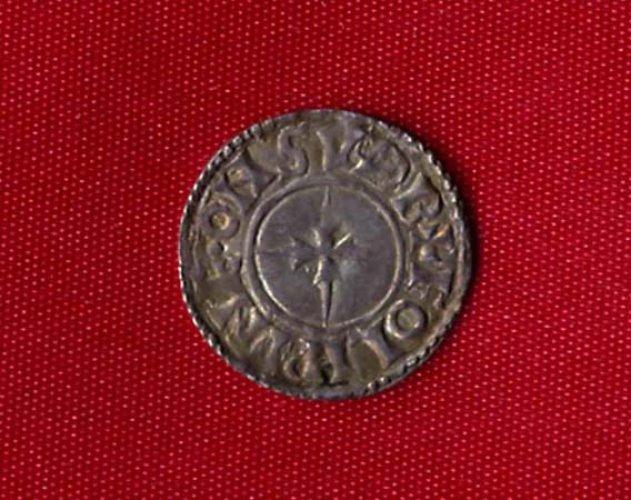 Sudbury penny of Edward-reverse